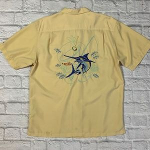 COLUMBIA River Lodge Button Up Shirt Adult M
